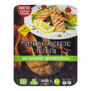 Филе веганского лосося (salmon fillets vegan) VEGO | ВЕГО 500г