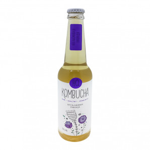 """Комбуча напиток """"Лаванда с цедрой апельсина"""" HQ Kombucha 330мл"""