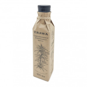 Масло сыродавленное конопляное TRAWA 250мл