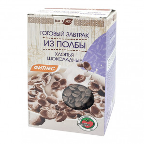 """Готовый завтрак из полбы """"Хлопья шоколадные"""" 200г"""