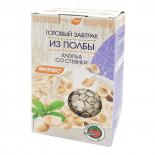 """Готовый завтрак из полбы """"Хлопья со стевией"""" 200г"""