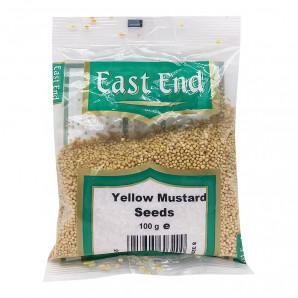 Горчица семена желтые East End 100г