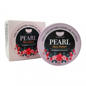 Гидрогелевые патчи с жемчугом и маслом ши | Koelf Pearl & Shea Butter Eye Patch Petitfee 60шт