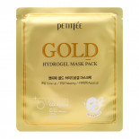 Гидрогелевая маска для лица с золотым комплексом Petitfee 32г
