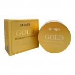 Гидрогелевые патчи для глаз с золотом и муцином улитки (Gold hydrogel eye patch) Petitfee | Петитфи 60шт