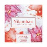 Шоколад нежный на кэробе с клубникой и бананом Nilambari 65г