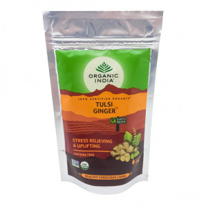 Чай Тулси с Имбирем Organic India 100г