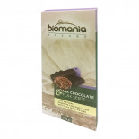 Шоколад темный с урбечем из семян льна BIOMANIA 100% натуральный 110г