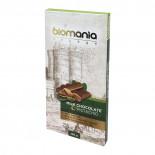Шоколад темный с урбечем из фисташки BIOMANIA 100% натуральный 100г