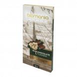 Шоколад темный с урбечем из кешью BIOMANIA 100% натуральный 100г