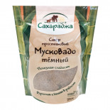 "Сахар тростниковый ""Мусковадо"" темный 450г"