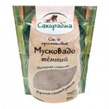 "Сахар тростниковый ""Мусковадо"" темный Saharadja 450г"