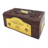 Чай Ассам в деревянной коробке (assam tea) Bharat Bazaar | Бхарат Базар 50г