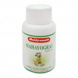 Махайогарадж Гуггулу (Mahayogaraj Guggulu, Baidyanath) от мышечных и суставных болей 40 таб.