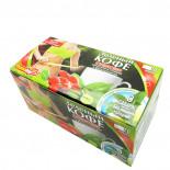 Зеленый кофе молотый с цикорием, ягодами годжи и стевией Фитодар 20 пакетиков