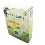 Хна | Henna natural с добавками трав Сангам 100г