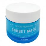 Утренняя увлажняющая маска-сорбет для лица A'Pieu 105мл