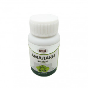 Амалаки (Amalaki) для иммунитета и омоложения Ayur Plus   Аюр Плюс 60 таб.
