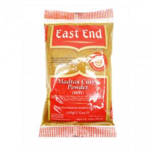 Madras Curry Powder Hot East End Смесь специй карри острая 100г