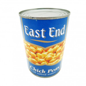 Chick Peas East End Нут белый консервированный 400г