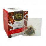 Черный чай в шелковых пакетиках с Корицей 3г (1 пакетик)