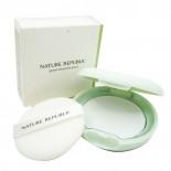 Компактная пудра для кожи с расширенными порами с экстрактом зеленого чая  Nature Republic 8,5г