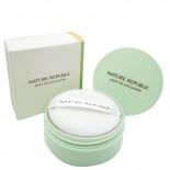 Компактная пудра для лица с экстрактом зеленого чая Nature Republic 5г