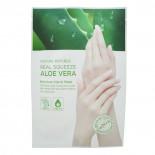 Увлажняющая маска для рук с экстрактом Алоэ Вера Nature Republic 16мл