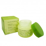 Освежающий крем для лица с экстрактом зеленого чая Nature Republic 55мл