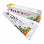 Зубная паста аюрведическая на травах Dant Kanti Patanjali  Дент Канти Патанджали 100г