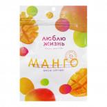 Сушеное манго (dried mango) Люблю Жизнь Myanmar Golden | Мянмар Голден 80г