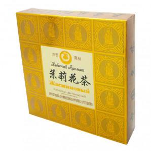 Жасминовый чай зеленый (jasmine green tea) Небесный Аромат 120г