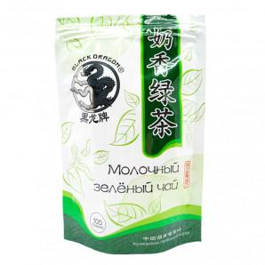 Молочный зеленый чай (milk green tea) Black Dragon   Блэк Драгон 100г