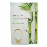 Тканевая маска для лица с экстрактом бамбука Innisfree 20мл