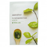 Тканевая маска для лица с экстрактом зеленого чая Innisfree 20мл