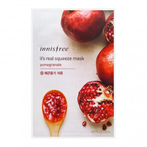 Тканевая маска для лица с гранатовым соком (mask sheet) Innisfree | Иннисфри 20мл