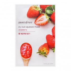 Тканевая маска для лица с экстрактом клубники (mask sheet) Innisfree   Иннисфри 20мл
