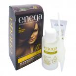 Крем-краска для волос без аммиака стойкая Enega Brilliance  Инига Натурально-коричневая 50г