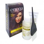 Крем-краска для волос без аммиака стойкая Enega Brilliance  Инига Шоколадно-коричневая 50г