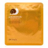 Гидрогелевая маска для лица с золотом и улиточным муцином Petitfee 30г