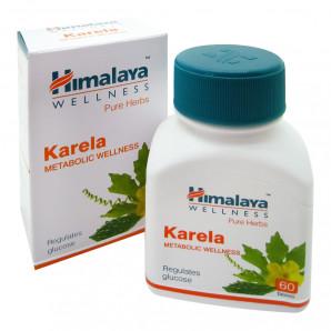 Карела (Karela) для поддержания нормального уровня сахара в крови Himalaya 60 таб.