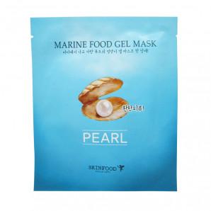 Гидрогелевая маска с экстрактом жемчуга SkinFood 25г