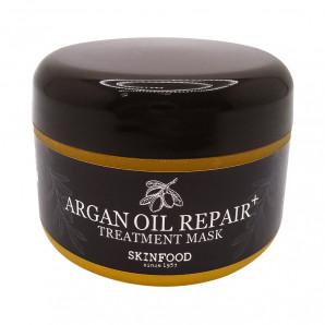 Восстанавливающая маска для волос с маслом арганы SkinFood 200г