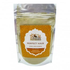 Травяная маска для волос Совершенство (herbal hair mask) Indibird | Индибёрд 50г