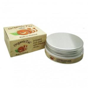 Маска для лица против морщин с муцином улитки (wrinkle mask) Organic Tai | Органик Тай 50мл