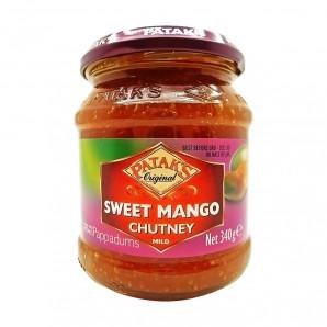 Паста чатни из манго сладкая (sweet mango chutney) Patak's | Патакс 340г