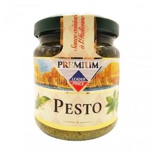 Соус песто с базиликом (pesto) Leader Price | Лидер Прайс 190г