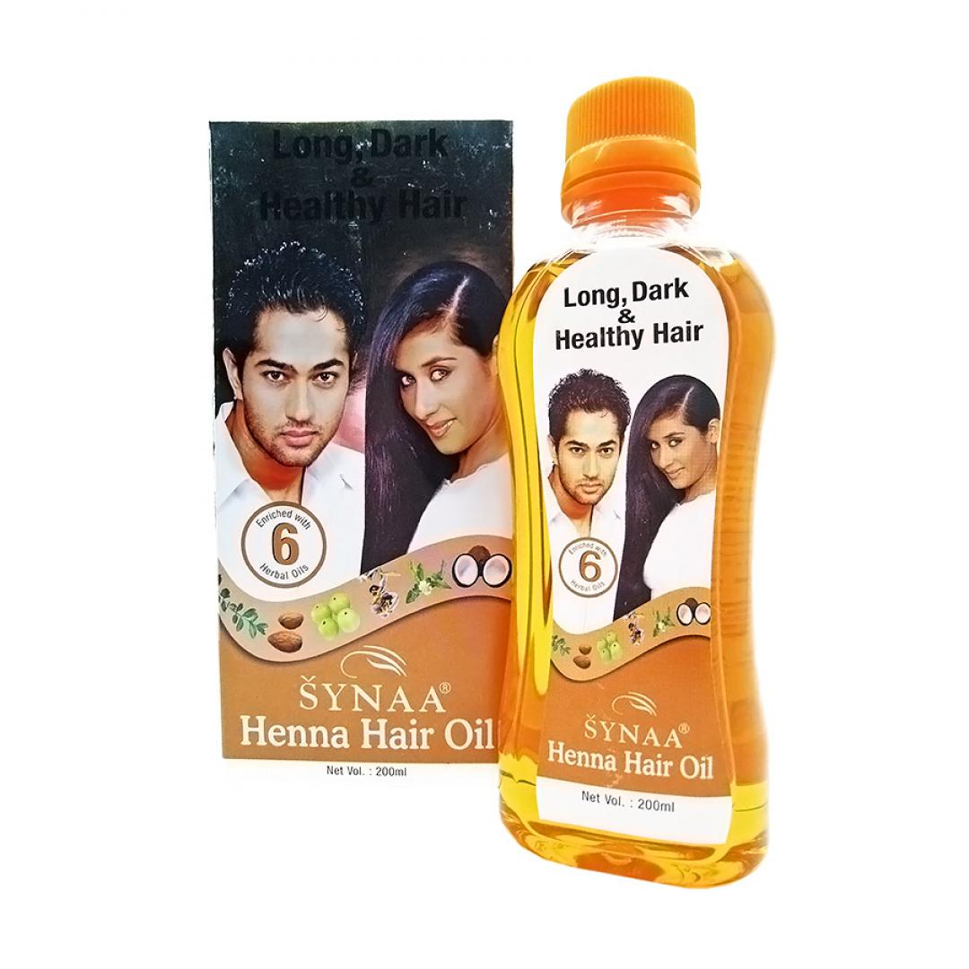 Масло для волос с хной (henna hair oil) Synaa | Синая 200мл