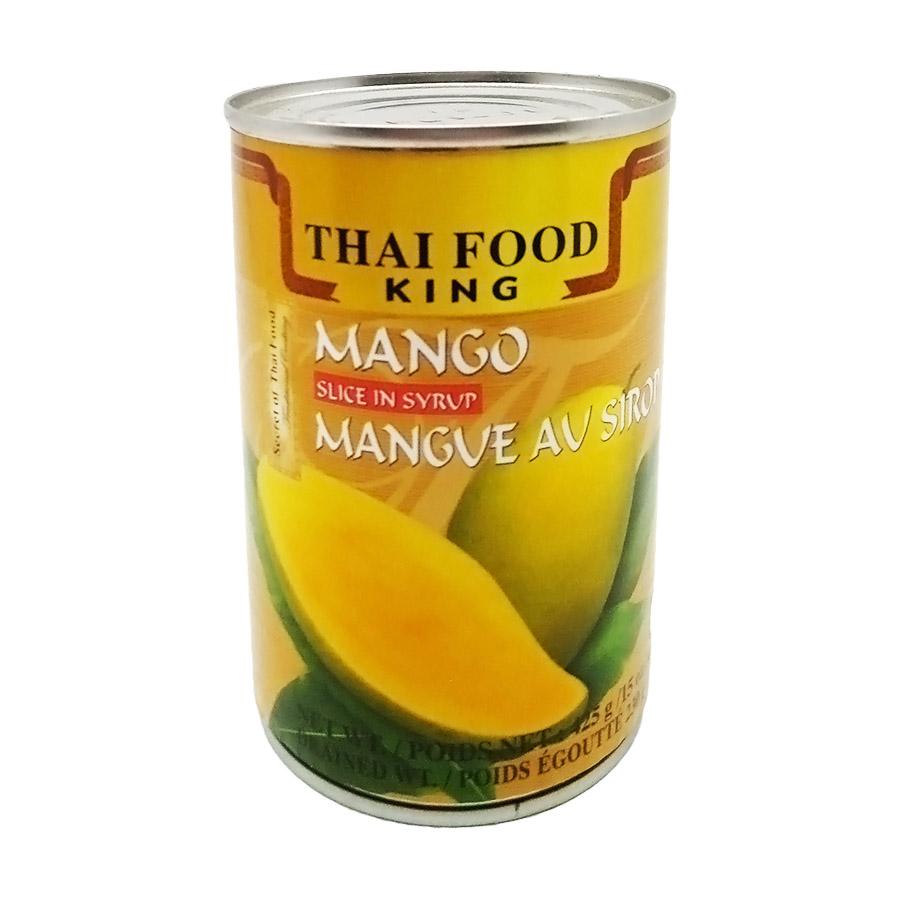 Манго ломтики в сиропе (mango) Thai Food King | Тай Фуд Кинг 425г — купить по цене 199 руб. Интернет магазин индийских товаров Ашанти (Москва)