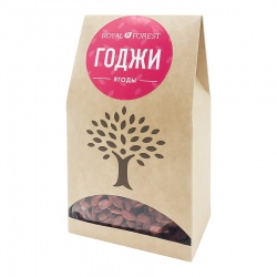 Ягоды годжи (Goji berries) Royal Forest | Роял Форест 100г